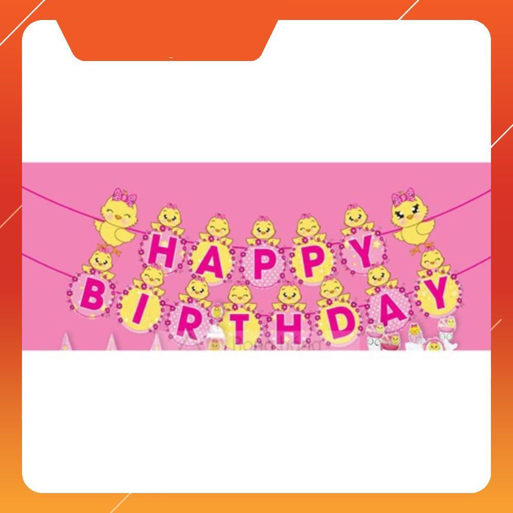 [Chuyên Giá Sỉ] Dây chữ happy birthday ( khỉ xanh)