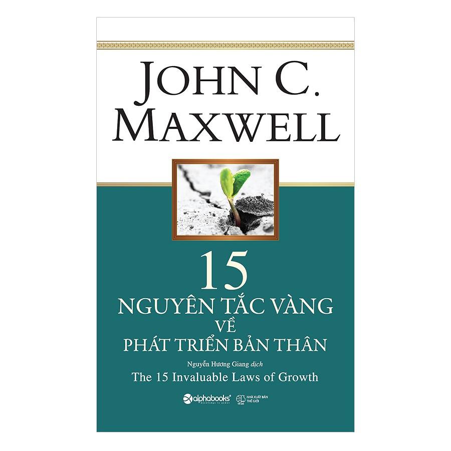 [ Sách ] 15 Nguyên Tắc Vàng Về Phát Triển Bản Thân (Tái Bản 2018) - 2944715 , 1083769315 , 322_1083769315 , 159000 , -Sach-15-Nguyen-Tac-Vang-Ve-Phat-Trien-Ban-Than-Tai-Ban-2018-322_1083769315 , shopee.vn , [ Sách ] 15 Nguyên Tắc Vàng Về Phát Triển Bản Thân (Tái Bản 2018)