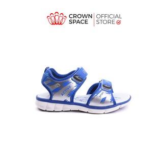 Dép Quai Hậu Bé Trai Crown UK Sandals Cao Cấp CRUK524 Nhẹ Êm Size 26-35 2-14 Tuổi thumbnail