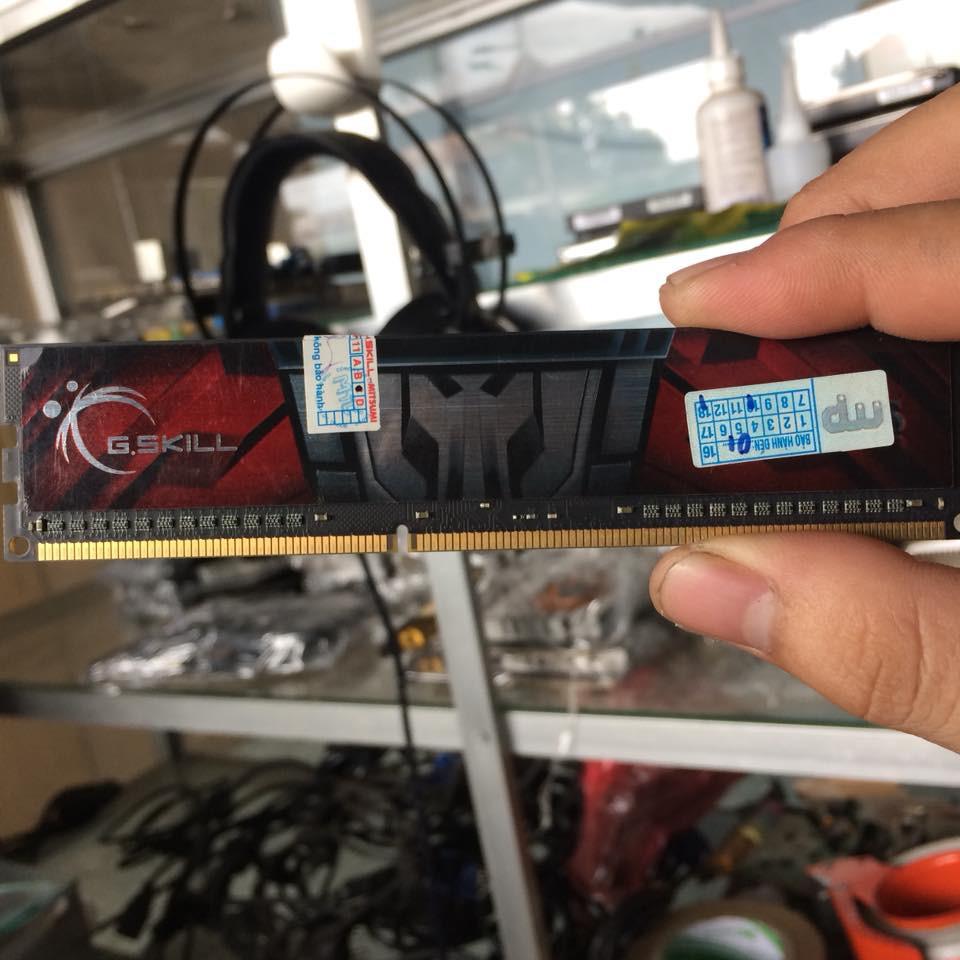 DDR3 4GB Gskill BUSS 1600 Aegis Giá chỉ 280.000₫