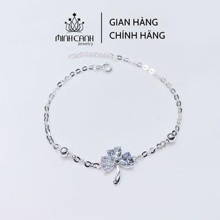 Lắc Chân Bạc Minh Canh Jewelry - Cỏ 3 Lá May Mắn thumbnail