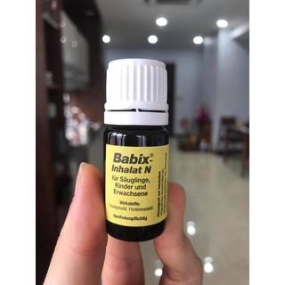 Tinh dầu trị nghẹt mũi babix Đức