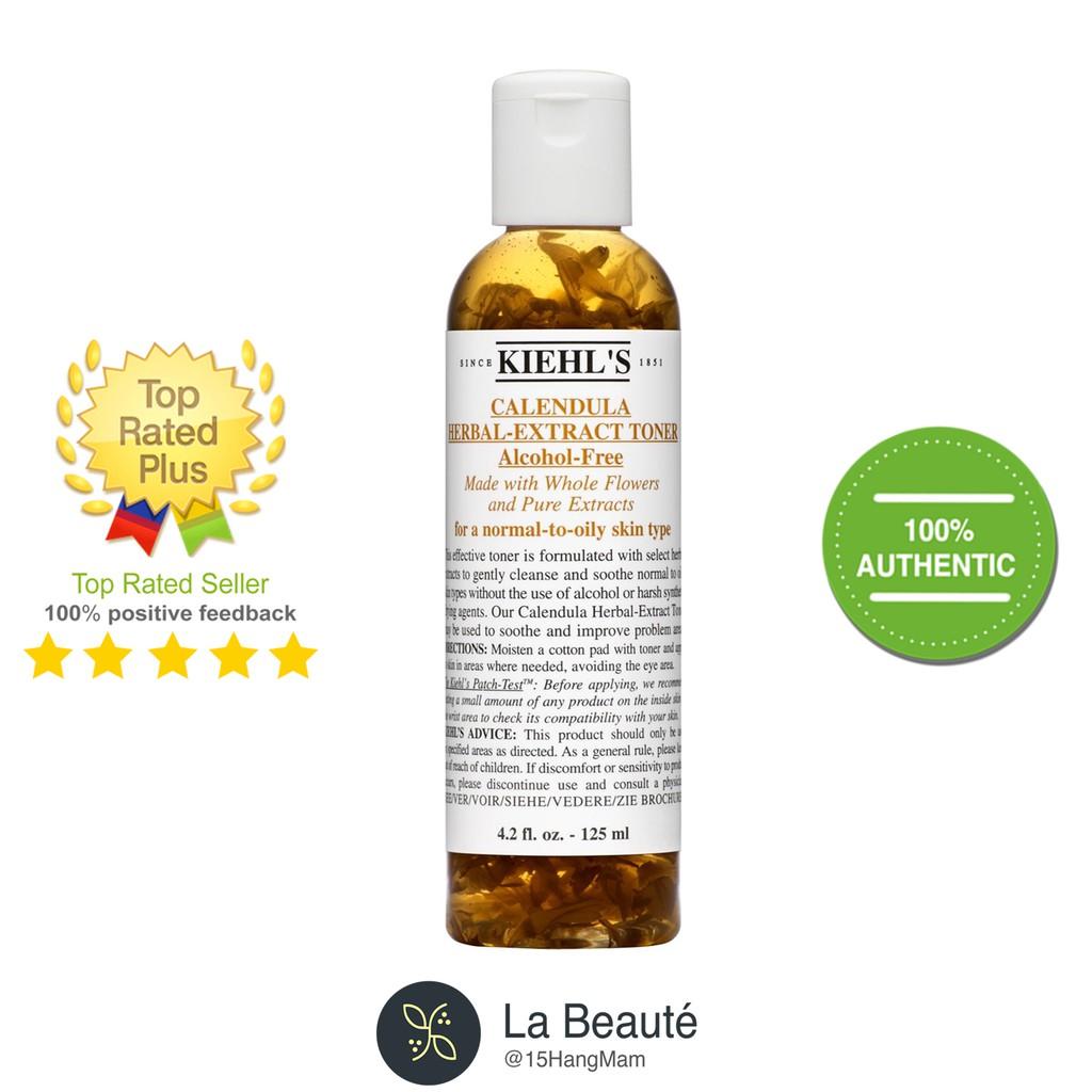 Kiehl's Calendula Herbal Extract-Toner - Nước Cân Bằng Da, Chiết Xuất Từ Hoa Cúc