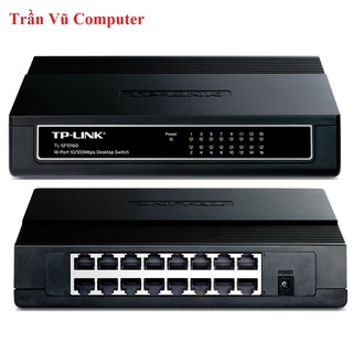 Switch chia mạng TPlink 16 cổng, bộ chia mạng chính hãng 16 cổng BH 24 tháng đổi mới