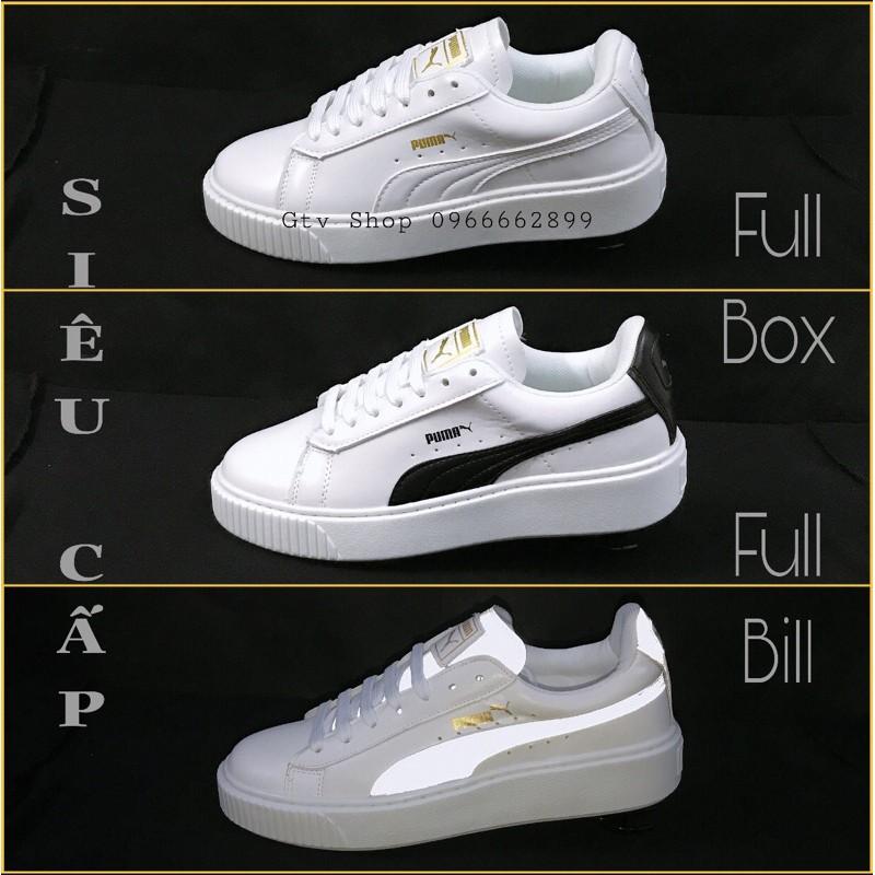 (Full box, Full bill) loại Đế bằng, size 36-43 nam nữ - Tặng thêm 1 bộ dây lụa - Giày thể thao nam nữ PM khâu đế..    .