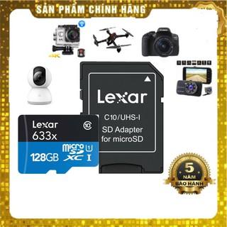 Thẻ nhớ Lexar 128GB Class10-100mb/s microSDHC / microSDXC ™ UHS-I 633x -