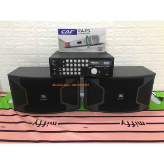 Bộ dàn Karaoke Nghe nhạc Gia đình Gồm Âm ly Jarguar Suhyoung PA600A + Đôi loa JBL KS 310 + Micro CAF P6 thumbnail