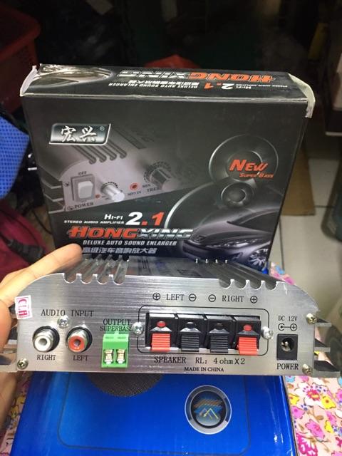 AMPLY 12V-300W SIÊU TRẦM HX168AH