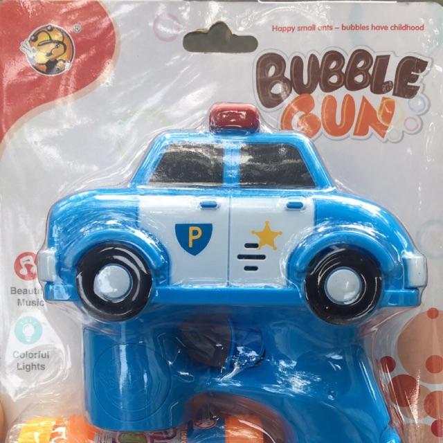Súng bắn bong bóng xà phòng hình xe cảnh sát