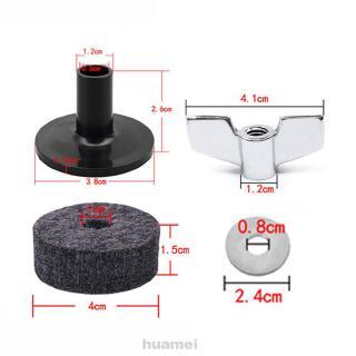 18pcs Noise Reduction Protective Replacement Universal Wearproof For Drum Felt Pad Kit