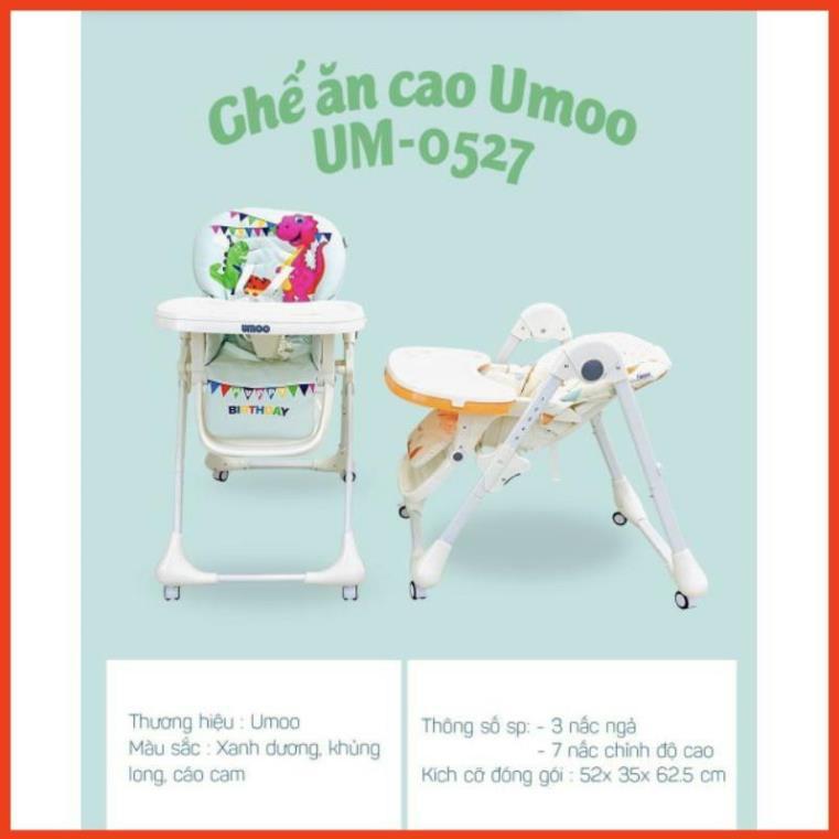 GHẾ ĂN DẶM CAO CẤP UMOO- UM0527 .