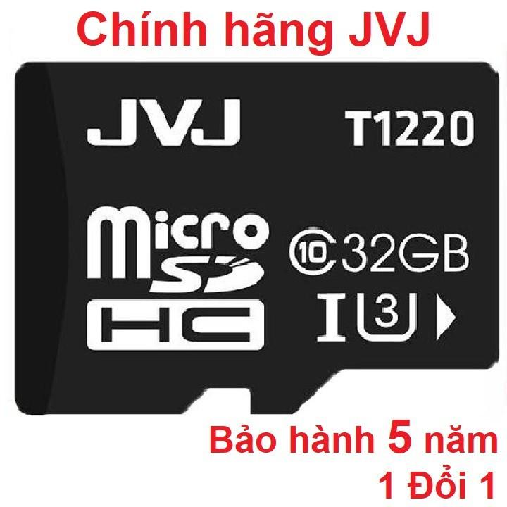 Thẻ nhớ 32G JVJ Class 10 tôc độ cao - Chuyên dụng Camera