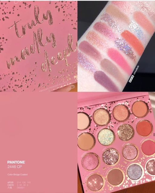 Bảng Màu Mắt Colourpop Truly Madly Deeply | Shopee Việt Nam