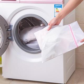 Túi giặt quần áo, túi lưới giặt đồ có khoá, loại to