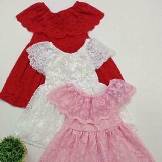 Váy ren cho bé gái