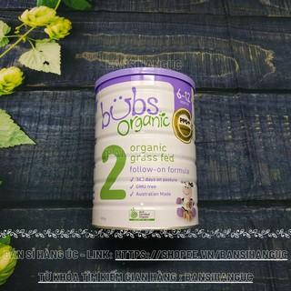 Sữa bò BUBS Organic 800g - số 2 (Hộp) thumbnail
