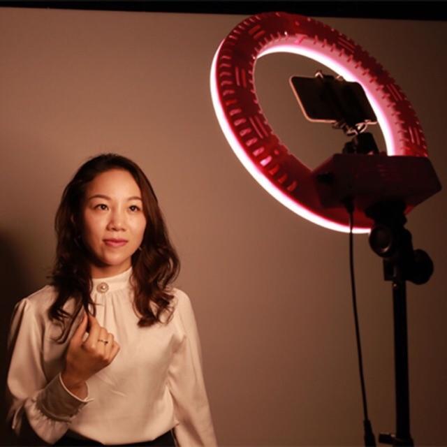 [ TUYỂN SỈ ] Đèn Led 34cm hỗ trợ ánh sáng LiveStream - Makeup - chụp ảnh - phun xăm ( tặng kèm túi đựng đèn )