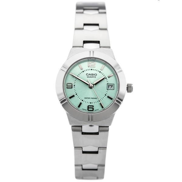 Đồng hồ Nữ Casio LTP-1241D-3ADF dây inox