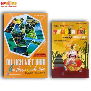 Sách - Combo du lịch việt nam ẩm thực & cảnh điểm + tự học tiếng trung qua truyện cười song ngữ trung việt. thumbnail