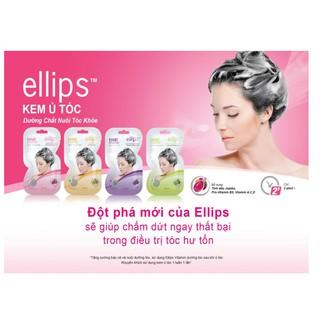 Mặt nạ Ellips ủ dưỡng tóc 20G (Ellips hair mask 20G) Dưỡng chất nuôi tóc khỏe thumbnail