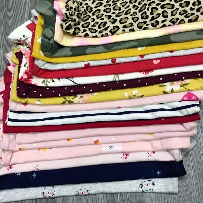 Set 4 áo cotton Oldnavy bé gái 1-5y