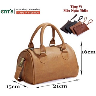 Túi đeo chéo nữ CNT TĐX41 cao cấp (tặng kèm ví mini) thumbnail