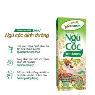 Thùng 40 hộp Ngũ cốc dinh dưỡng Việt Ngũ Cốc – 180ml/hộp