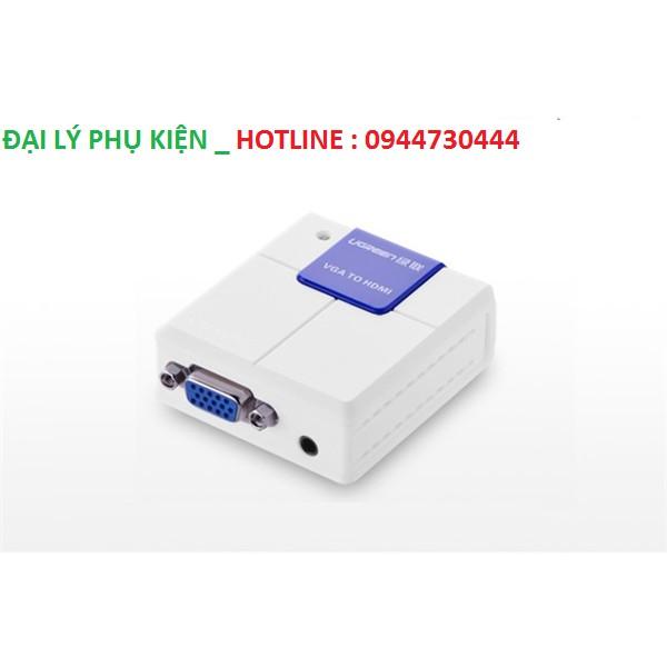 Bộ chuyển đổi VGA to HDMI Ugreen 40224