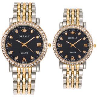 Đồng hồ đeo tay doanh nhân-giải trí-thép-kim cương-nam-sông-kim cương-thạch anh
