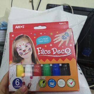 Màu vẽ mặt an toàn cho bé