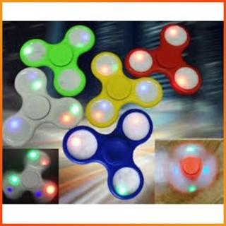 [HÀNG THẬT] – Con quay có đèn led 7 màu Spinner Fidget – Con Quay Giúp Xả Stress