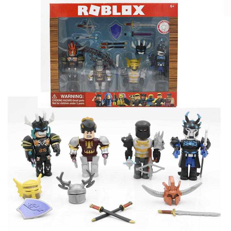Roblox Figure Game Toys Playset Age of Chivalry Robot Kids Gift