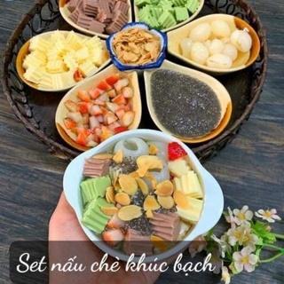 SET Chè khúc bạch LGT Food( nấu 25 chén)