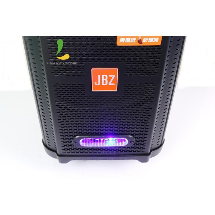Loa Kéo di động JBZ 0806 - loa kẹo kéo giá rẻ kết nối bluetooth 3.0, công suất 300W