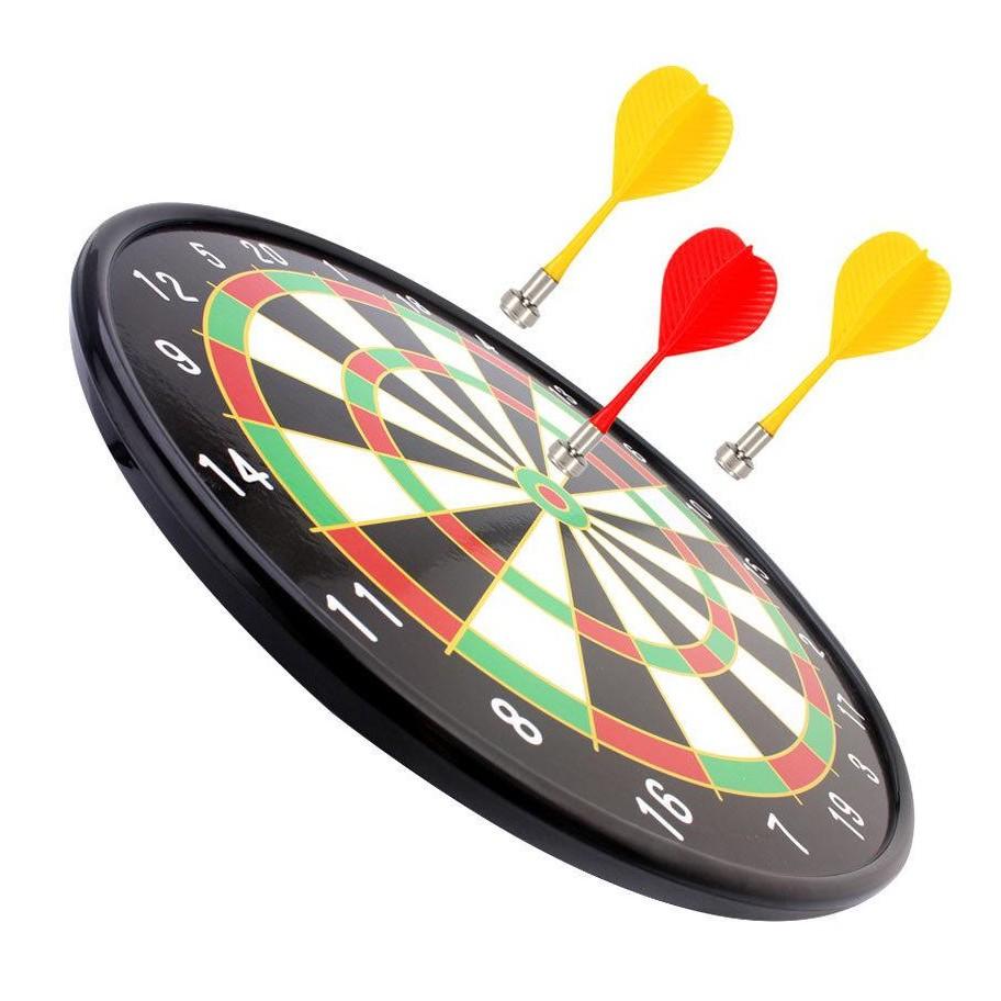 Đồ chơi phóng phi tiêu nam châm dạng bảng tròn cứng, đường kính 36cm (15 inches), phù hợp cho cả người lớn & trẻ em