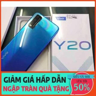[ Siêu giảm giá ] Điện thoại Vivo Y20 (4 64GB) Pin khủng 5000mAh Fullbox Bh 12 tháng giá tốt thumbnail