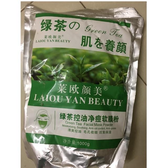 Mặt nạ bột trà xanh 1kg