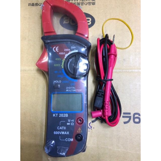 Đồng hồ đo Ampe kìm kẹp dòng KT 202B - 3424641 , 814063935 , 322_814063935 , 250000 , Dong-ho-do-Ampe-kim-kep-dong-KT-202B-322_814063935 , shopee.vn , Đồng hồ đo Ampe kìm kẹp dòng KT 202B