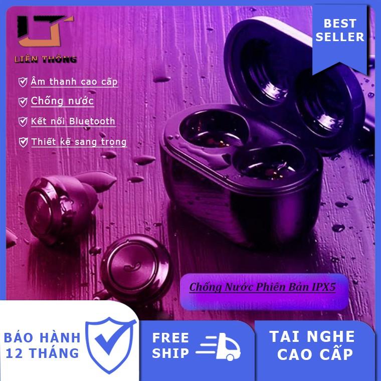 (Sản Phẩm Cao Cấp) Tai Nghe Bluetooth Không Dây - Siêu Bass Wireless A6 - Chống Nước - Pin Khủng 100h