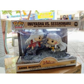 (New box 9/10) Mô hình nhân vật Funko Pop! FadoMua Funko Pop! Moment: Inuyasha Vs. Sesshomaru
