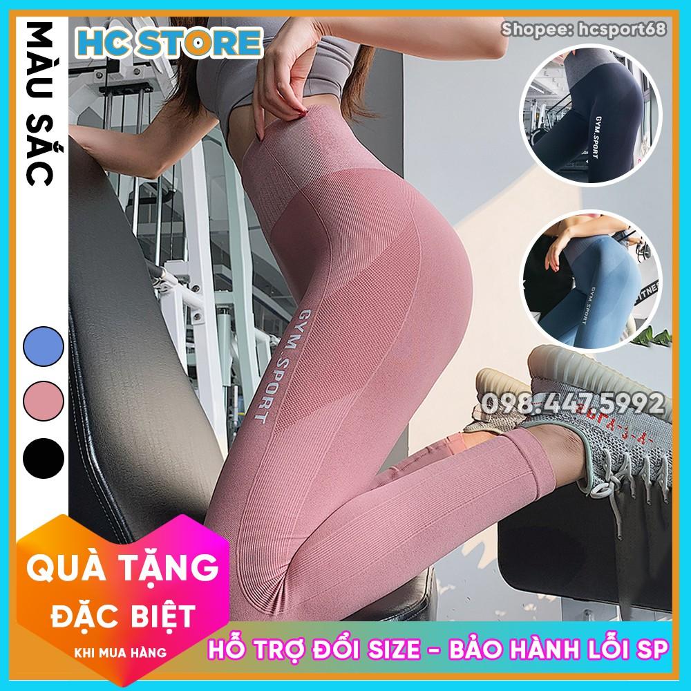 Quần Tập Gym Yoga Nữ QD23 Gym Sport, Thiết Kế Thể Thao Mới, Màu Sắc Trẻ Trung, Cạp Cao Nâng Mông Gen Bụng - HcSport68