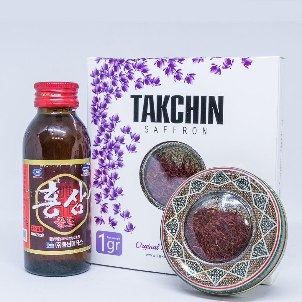 [Cam kết chính hãng]- 1gr Saffron Takchin Iran - Nhụy hoa nghệ tây Iran