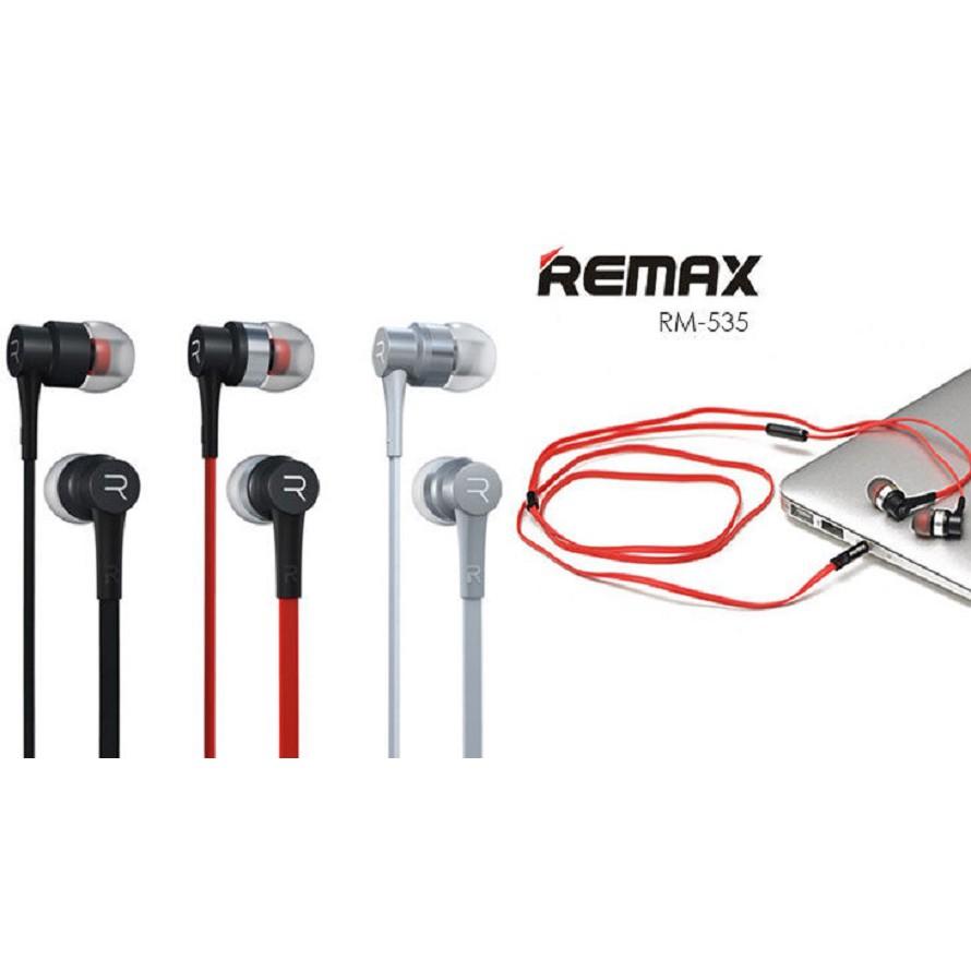 Tai nghe nhét tai Remax-535 chính hãng