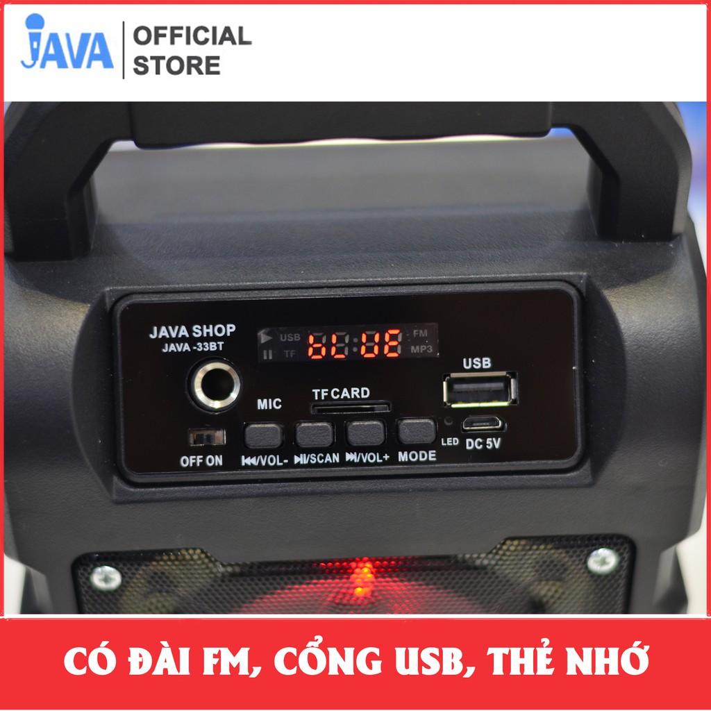 [TẶNG 1 HOẶC 2 MIC KARAOKE CÓ VANG 100K] Loa Kẹo Kéo Karaoke Bluetooth Mini - vi tính