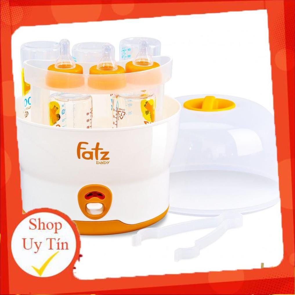 Máy tiệt trùng hơi nước 6 bình sữa Fatzbaby FB4019SL fatz baby