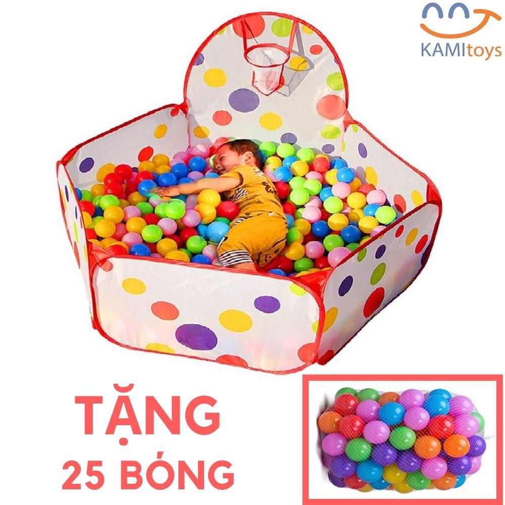 Nhà bóng cho bé kèm bóng 25 quả ❤️Chọn mẫu❤️ lều chơi công chúa mini gấp gọn cho trẻ em