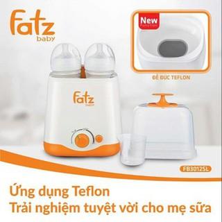 Máy hâm và tiệt trùng bình sữa đa năng 2 bình cổ rộng Fatzbaby THẾ HỆ MỚI FB3012SL thumbnail