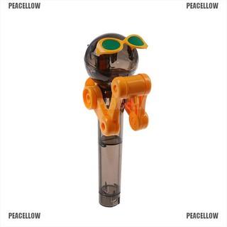 【PEACELLOW】Lollipop holder decompression toys lollipop robot dustproof creative toy gift