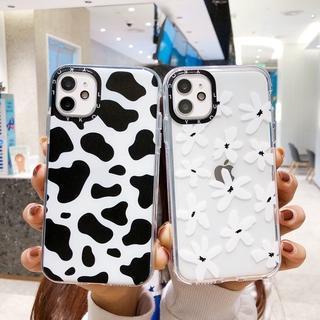 Ốp Lưng Trong Suốt Họa Tiết Hoa Cúc Xinh Xắn Cho Iphone 12 11 Pro Max Xs Max Xr 6s 8 7 Plus