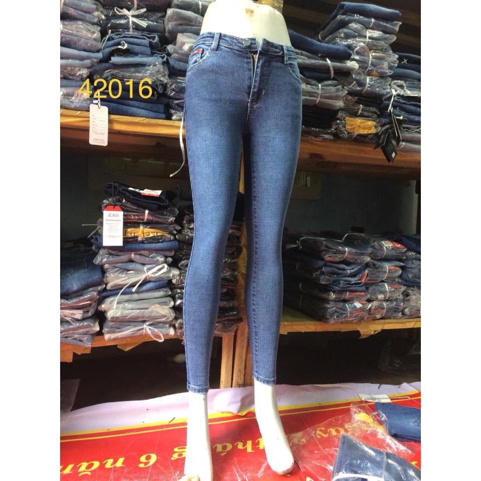 quần jean nữ fom chuẩn 42016
